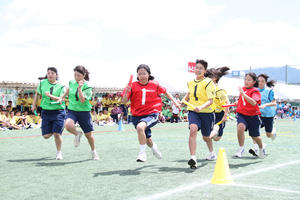 体育祭 クラス対抗リレー