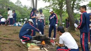 飯ごう炊さん(7月21日)