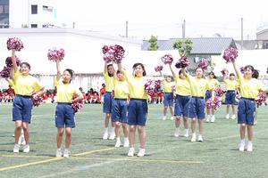 集団演技(3年生女子)