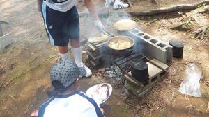 飯ごう炊さん